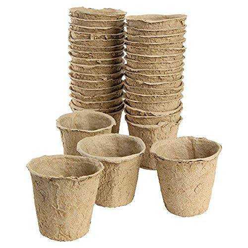 Vasi ecologici biodegradabili vasetti in torba per la semina for Vasi per semina