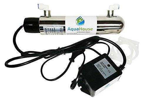 Lampada uv sterilizzatore per acqua da posizionare sotto for Lampada uv per tartarughe acquatiche prezzo
