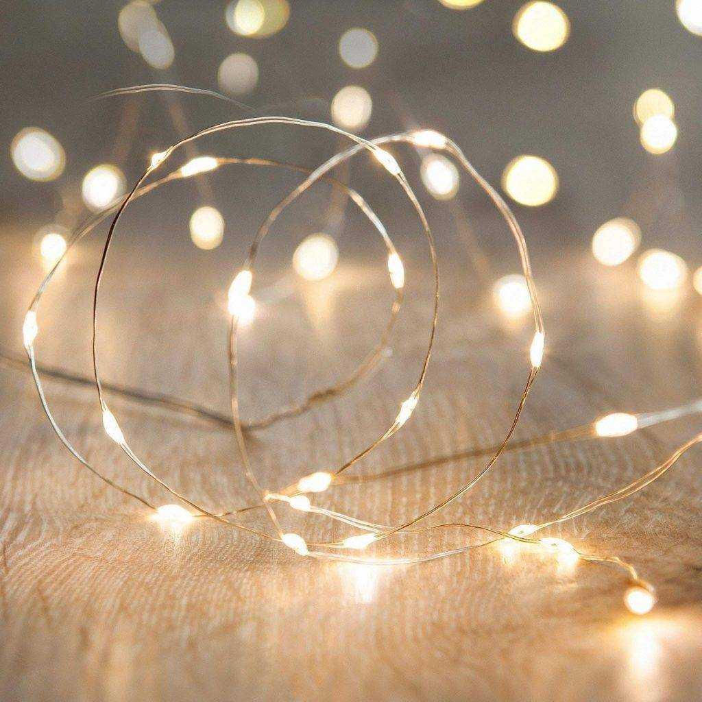 Immagini Natale Luci.Luci Di Natale Catena Luci A Led 10 Metri